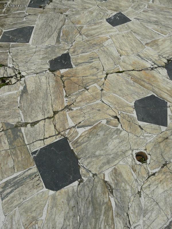 Phototh que sols opus incertum marbre blanc et noir - Marbre noir et blanc ...