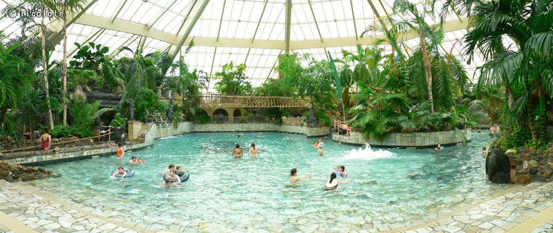 Phototh que paysages piscine couverte center parcs for Center parc sarrebourg piscine